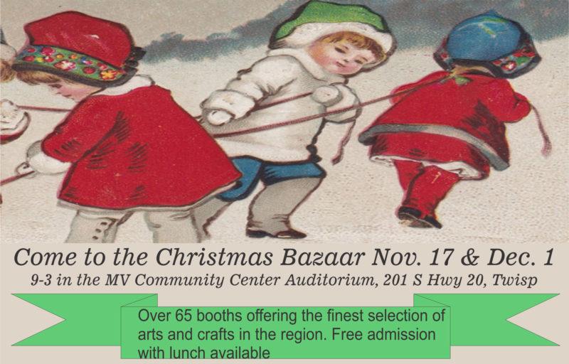 Christmas Bazaar is Coming! – Methow Valley Community Center